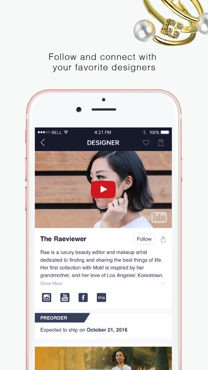 Motif Fashion: Designer Jewelry & Shopping App screenshot-3