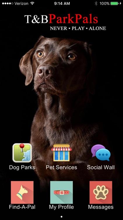 MyParkPals - Dog Park Finder, Pet Social Network