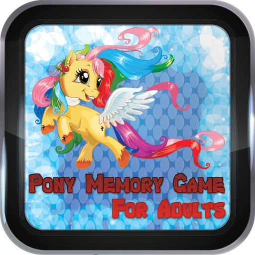 Pony Memory Game For Adults