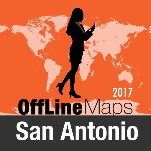 San Antonio mapa offline y guía de viaje