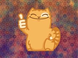 Crazy Kitty Emoji Stickers - for iMessage