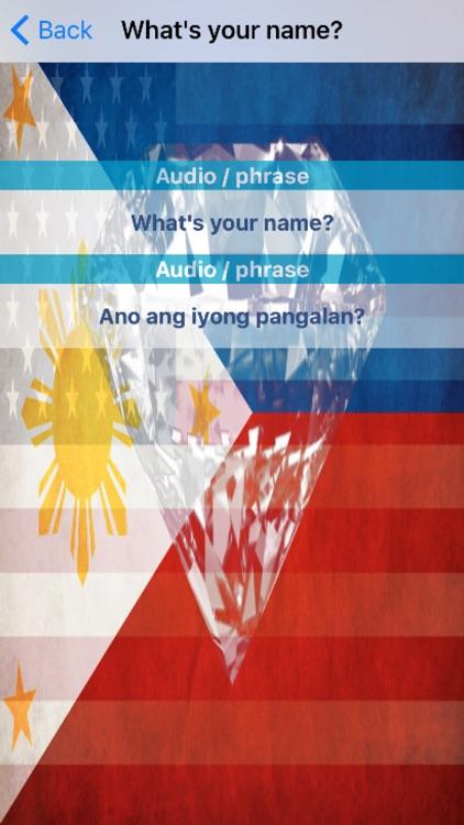 Filipino Phrases Diamond 4K Edition