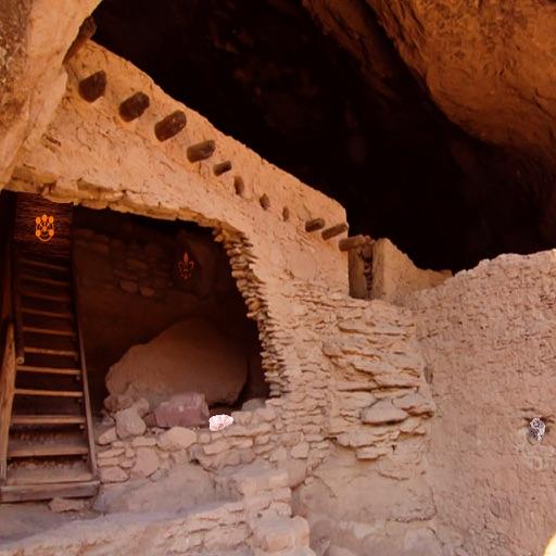 Gila Cliff Dwellings Escape