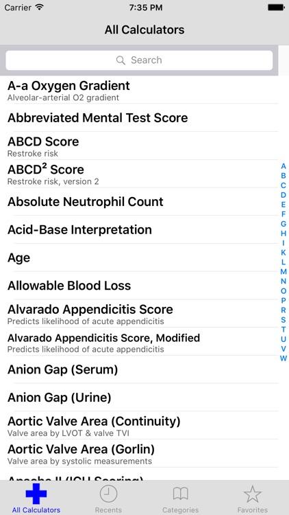MediMath Medical Calculator