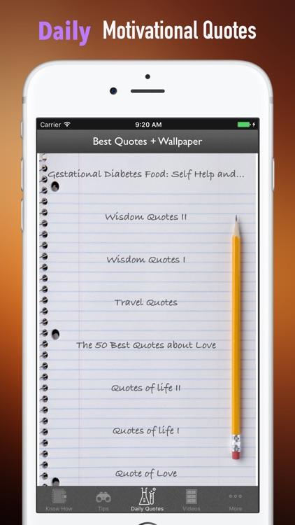 Gestational Diabetes Food: Self Help and Recovery screenshot-4