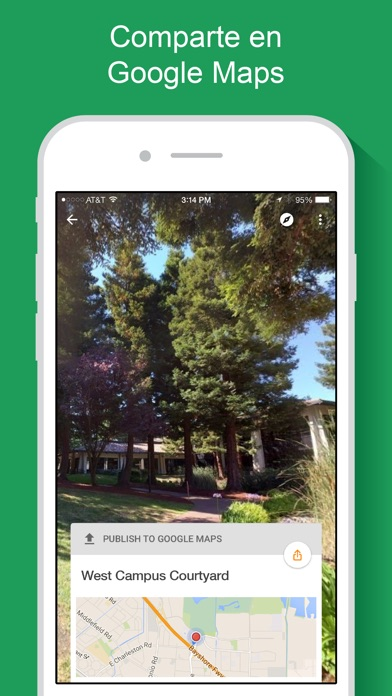 Google Street View para iOS ahora es compatible con la pantalla del iPhone X Street View iPhone X Google Street View google