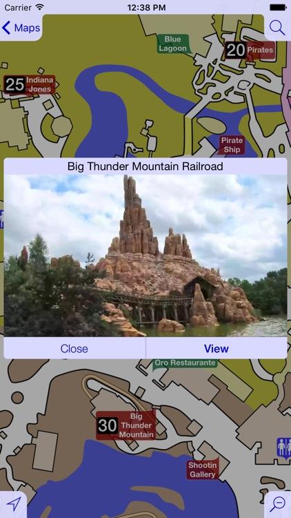Maps for Disneyland Paris - Ad Free
