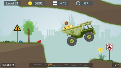 Screenshot #3 pour Big Truck -Mine Express Racing