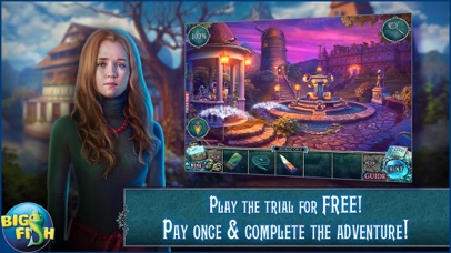 Fear for Sale: The Dusk Wanderer - Hidden Objects screenshot 1