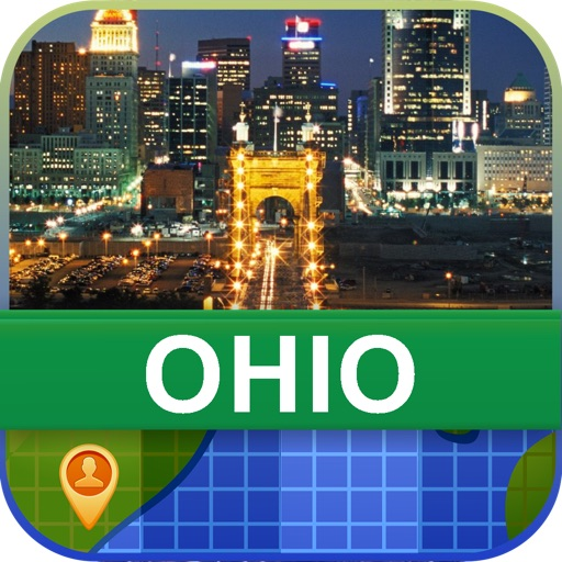 Offline Ohio, USA Map - World Offline Maps