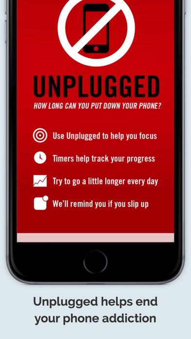 Unplugged — Stop Your Phone Addiction screenshot