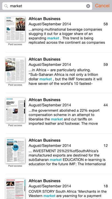 messages.download African Business software