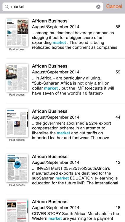 African Business screenshot-3