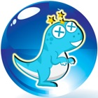 Little Dinosaur Puzzles Funny Balloons Bounce Out icon