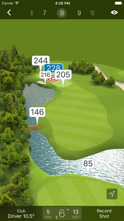 Fun Golf GPS app image