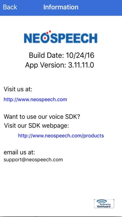 NeoSpeech - Text to Speech US (TTS) LITE