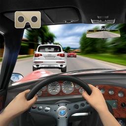 Vr Airborne Car Racer : 3D Virtual Reality 2016