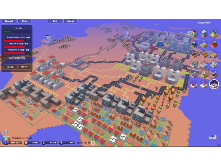 3D.City - Build Your Dream City ! screenshot-4