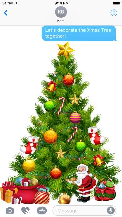 ... Screenshot #3 for Decor Christmas Tree Stickers - Decor your Xmas ...
