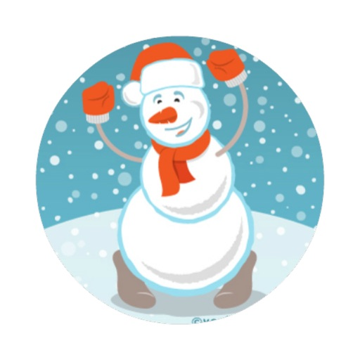 snowman dressup christmasgames icon