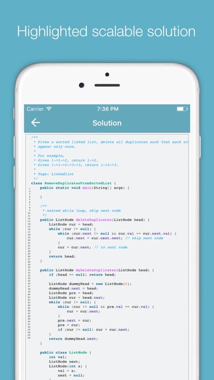 DFS - programming interviews problems & solutions screenshot-3