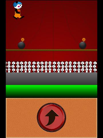 パンちゃんサーカス ~タップでジャンプするだけの簡単ゲームなのに無理ゲー 激ムズ?無料ゲームアプリ~のおすすめ画像2
