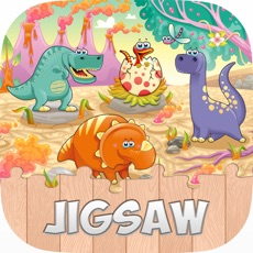 Activities of Dinosaur World Free Jigsaw Puzzle Games for kids