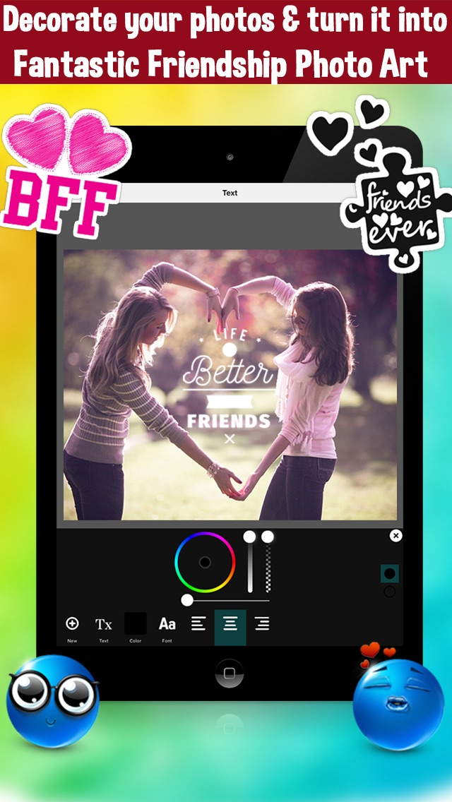 BFF Friends Photo Frames - Friendship Photo Editor | App Price Drops