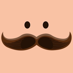 Mustachoji - Funny Moustache Stickers for Photos