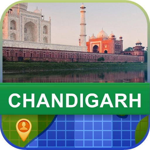 Offline Chandigarh, India Map - World Offline Maps