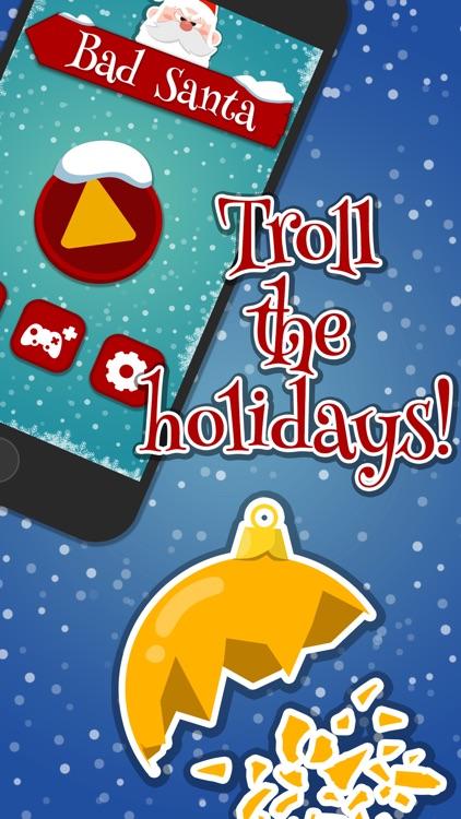 Bad, Bad Santa! 2k16 Christmas Speed Tapping Game screenshot-0