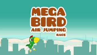 メガ鳥空気ジャンプレースプロ - ゲーム無料アプリ車レースおもしろのバイク携帯運転手カーレーシング人気リアル大型トラッのスクリーンショット1