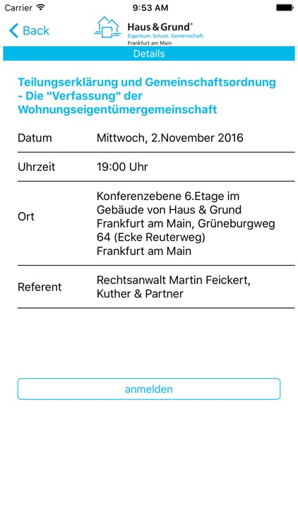 Haus & Grund Frankfurt am Main screenshot-4