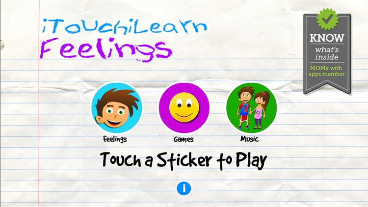 iTouchiLearn Feelings for Preschool Kids Free