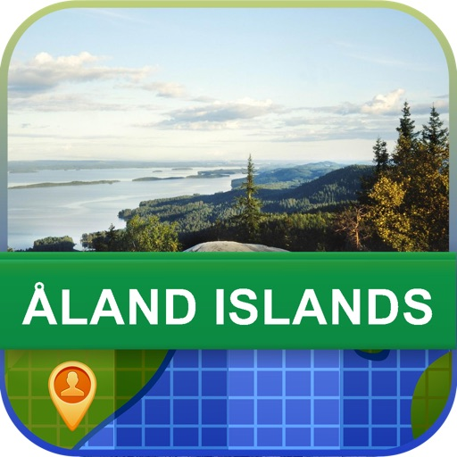 Offline Aland Islands Map - World Offline Maps