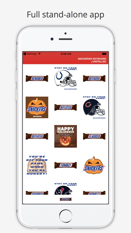 SNICKERS® Stickers
