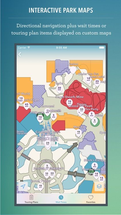Disney World Maps & Wait Times screenshot-0