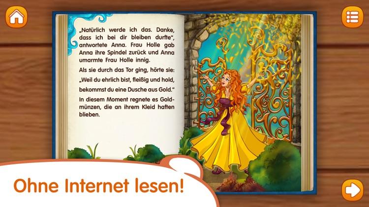 Frau Holle: Märchen und Bücher für Kinder screenshot-4