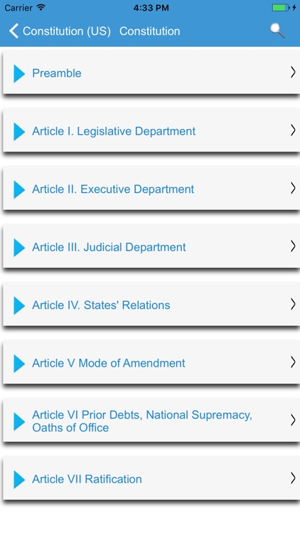 United States Constitution - Pocket Edition screenshot-2