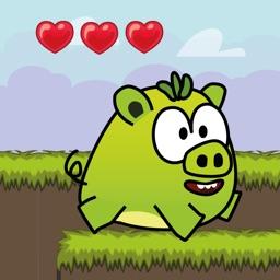 Super Pig Jump:Rainbow Island - Toddler Kids Games