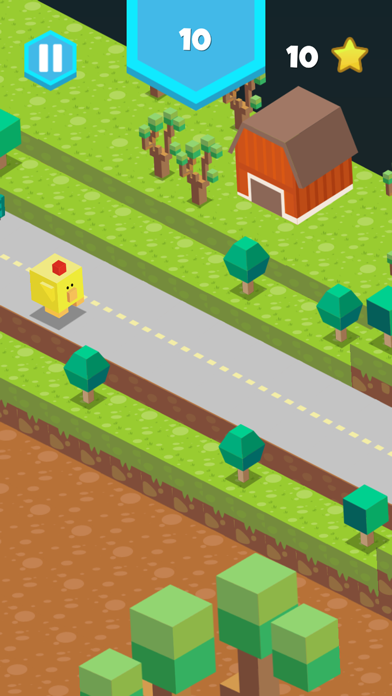 Blocky Road Runner Screenshot on iOS