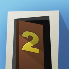 échapper à room2: immédiatement chambres et portes