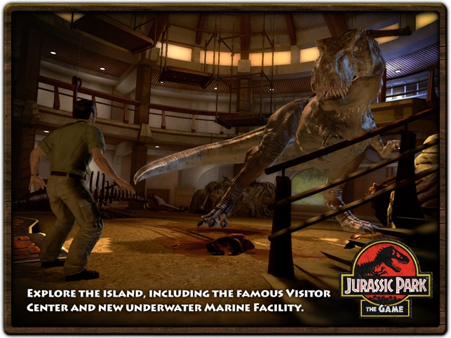 Jurassic Park The Game 1 HD On App Store