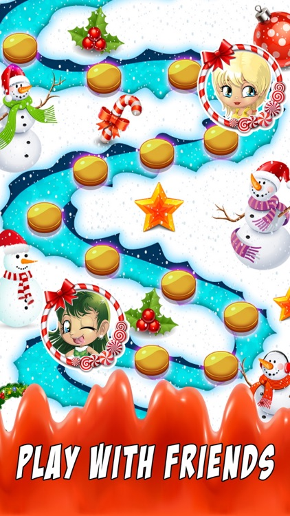 Sweet Santa Candy - New match 3 best game puzzle screenshot-4