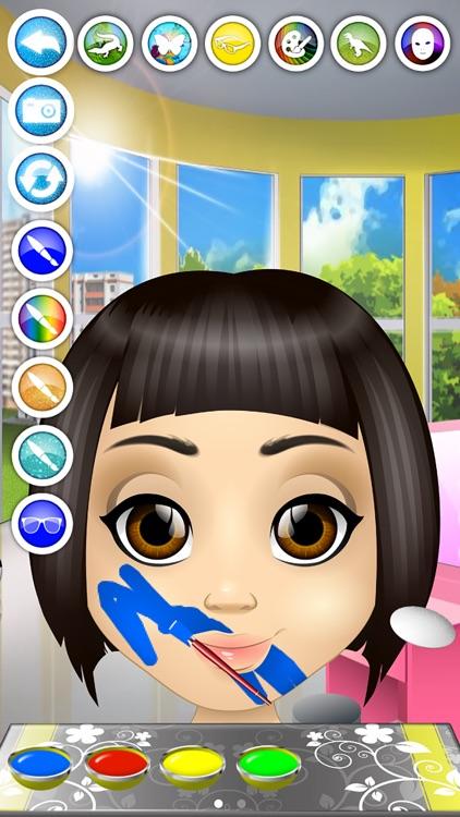 Kids Face Paint - Makeup & Spa Girls Salon Games screenshot-4