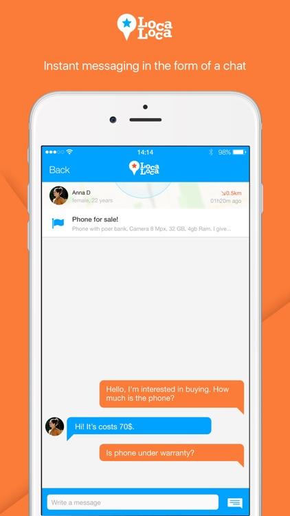 Loca Loca – Local Messenger screenshot-4