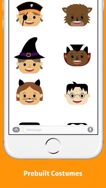 Halloween Costume Builder Sticker Pack screenshot-3