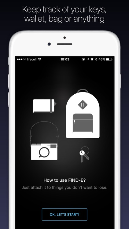 FIND-E – Find your phone, keys, wallet, anything