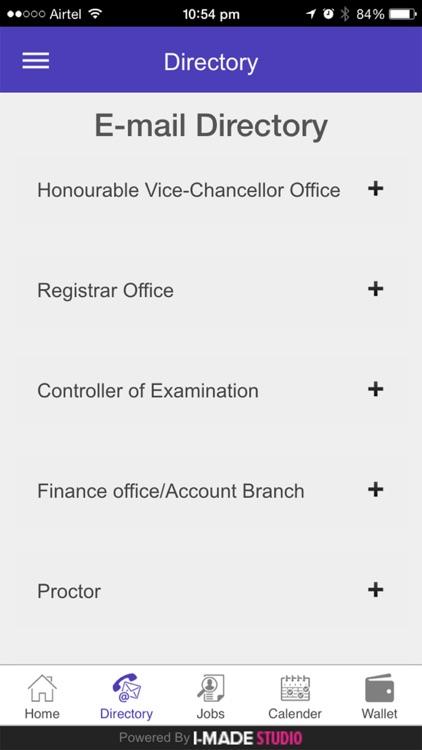 Central University of Haryana screenshot-4