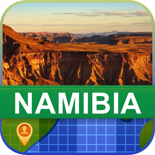 Offline Namibia Map - World Offline Maps icon